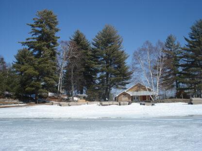 snowy camp office