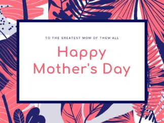 Mother's Day Happy Day